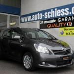 Toyota Verso Neues Modell vorne bei Autohaus Schiess
